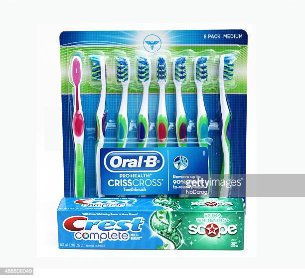 Toothpaste and toothbrushes Dental hygiene products
