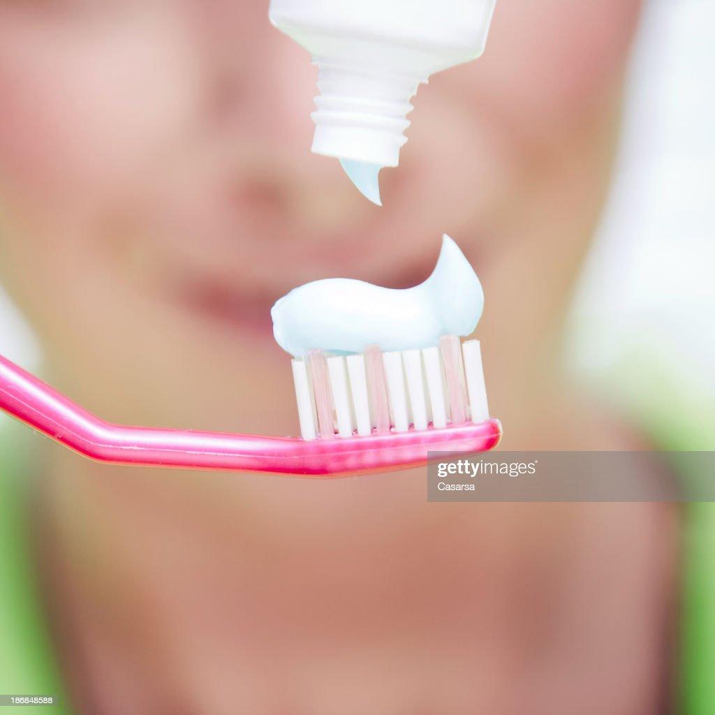 Toothpaste : Stock Photo