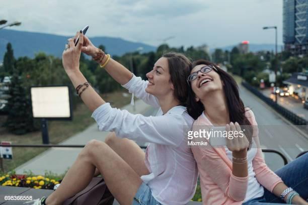 Sonrisa Toothy selfie