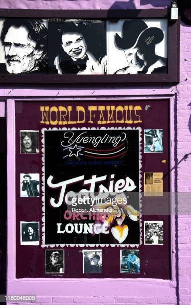 Tootsie's Orchid Lounge is an iconic bar and live country music venue in the Lower Broadway entertainment district in Nashville Tennessee