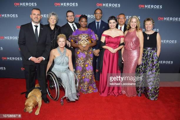2018 Top 10 CNN Heroes Chris Stout Florence Phillips Amanda Boxtel Luke Mickelson Abisoye AjayiAkinfolarin Maria Rose Belding Dr Ricardo PunChong...