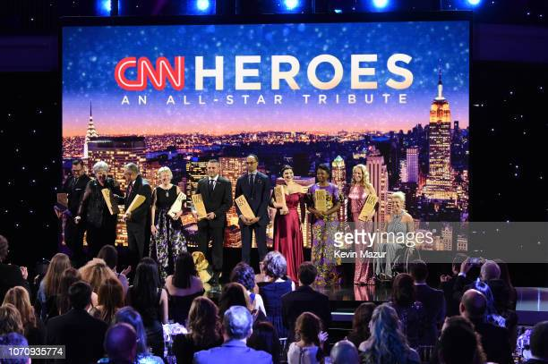 2018 Top 10 CNN Heroes Luke Mickelson Florence Phillips Ellen Stackable Chris Stout Hero of the Year Dr Ricardo PunChong Dr Rob Gore Maria Rose...