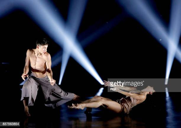 Top 10 contestant Logan Hernandez and allstar Audrey Case perform a Contemporary routine to 'Protocol' choreographed by Tyce Diorio on SO YOU THINK...