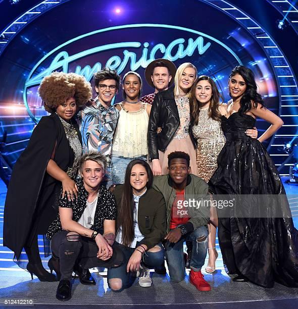 Top 10 contestants La'Porsha Renae, MacKenzie Bourg, Tristan McIntosh, Trent Harmon, Olivia Rox, Gianna Isabella, Sonika Vaid, Dalton Rapattoni,...