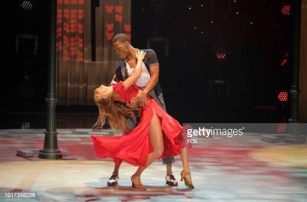 Top 10 contestants Magdalena Fialek and Darius Hickman perform a Cha Cha routine to I Like It Like That choreographed by Val Chmerkovskiy on SO YOU...