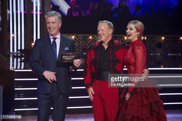 """Top 10"""" - It's another week of competition as 10 celebrity and pro-dancer couples compete on the fourth week of the 2019 season of """"Dancing with the..."""