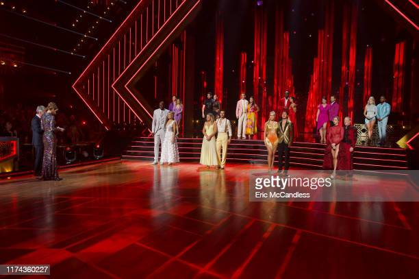 "Top 10"" - It's another week of competition as 10 celebrity and pro-dancer couples compete on the fourth week of the 2019 season of ""Dancing with the..."