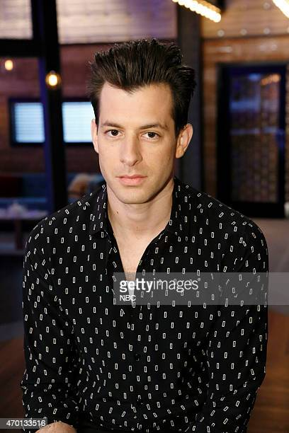 THE VOICE 'Top 10 Mentors' Pictured Mark Ronson