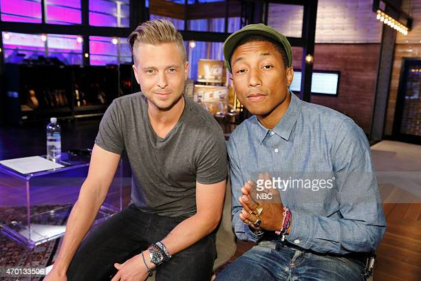 THE VOICE Top 10 Mentors Pictured Ryan Tedder Pharrell Williams