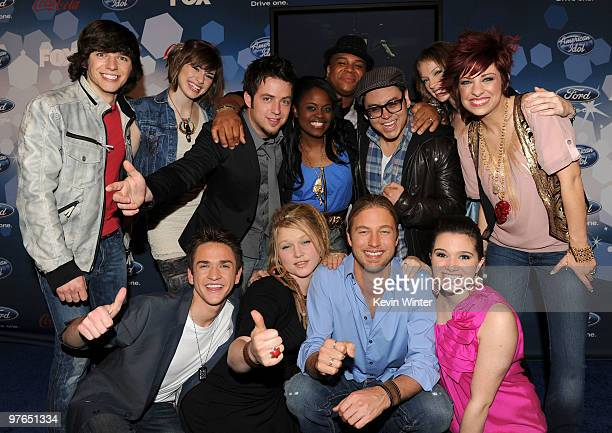 OUT** Top 12 Contestants Tim Urban Siobhan Magnus Lee Dewyze Paige Miles Michael Lynche Andrew Garcia Didi Benami Lacey Brown Aaron Kelly Crystal...