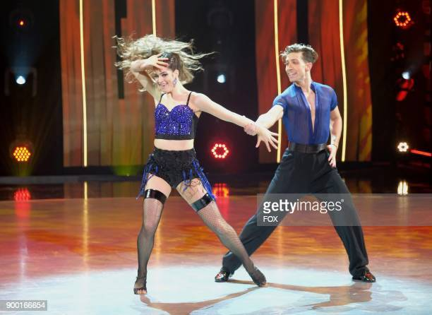 Top 4 contestants Kiki Nyemchek and Taylor Sieve perform a Ballroom/Cha Cha routine to Dont Cha choreographed by Anya Garnis on SO YOU THINK YOU CAN...