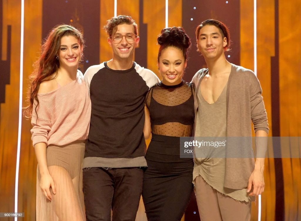Top 4 contestants Taylor Sieve, Kiki Nyemchek, Koine Iwasaki and Lex Ishimoto on SO YOU THINK YOU CAN DANCE airing Monday, September 18 (8:00-10:00 PM ET live/PT tape-delayed) on FOX.