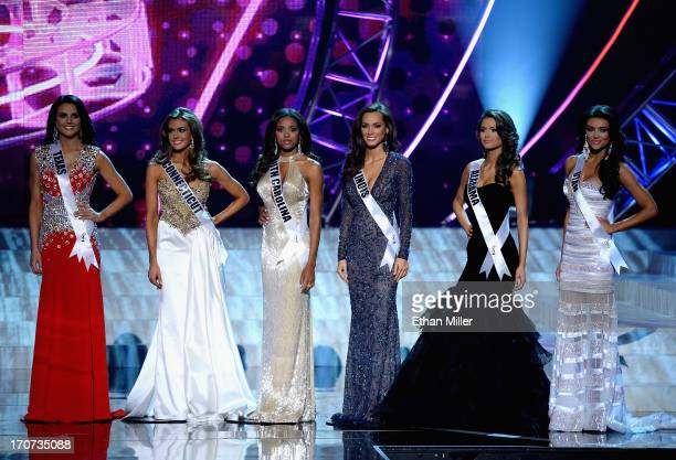Top 6 finalists Miss Texas USA Alexandria Nichole Nugent Miss Connecticut USA Erin Brady Miss South Carolina USA Megan Tyler Pinckney Miss Illinois...