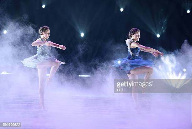 Top 9 contestant Tate McRae and allstar Kathryn McCormick perform a Contemporary routine to Get Here choreographed by Brian Friedman on SO YOU THINK...