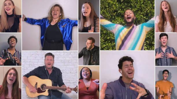 """CA: NBC'S """"The Voice"""" - """"Live Top 9 Performances"""" Episode 1812A"""