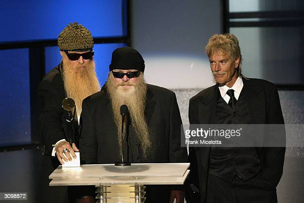 Top are inducted at the Rock & Roll Hall Of Fame 19th Annual Induction Dinner at the Waldorf Astoria Hotel March 15, 2004 in New York City.