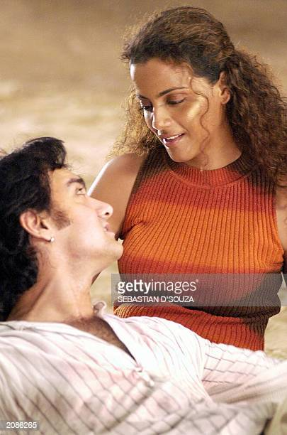Top Bollywood actor and Oscar nominee producer Aamir Khan romances actress Gauri Karnik in a music video called Pyar Ka Jashn' based on selected...