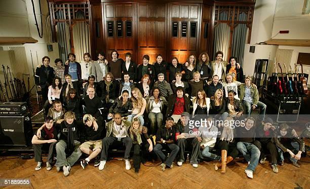 Top British musical artists Padraic McMahon, Kevin Horan, Daniel Ryan, Ben Carrigan, Conor Deasey, Gary Lightbody, Nathan Connolly, Mark McClelland,...