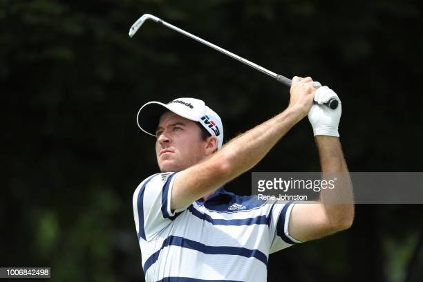 OAKVILLE ON Top Canadian Nick Taylor on hole 4 at Glen Abbey Golf Course in Oakville on Saturday He birdied the hole with a chip in from the front of...