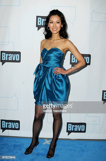 Top Chef Master Kelly Choi attends Bravo's 2010 Upfront Party at Skylight Studio on March 10 2010 in New York City
