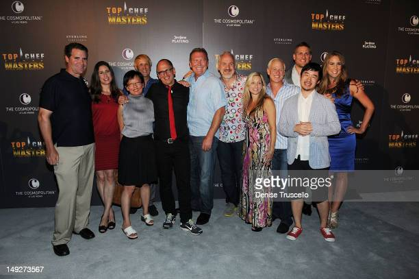 'Top Chef Masters' Season 4 Chef'testants and judges Keith Heffernan Sue Tores Patricia Yeo Clark Fraiser James Osland Art Smith Debbie Gold Mark...