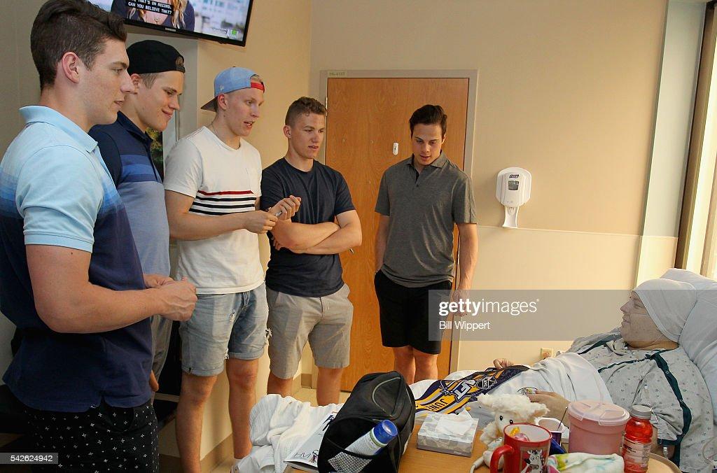 NHL top draft prospects Pierre-Luc Dubois, Jesse ...
