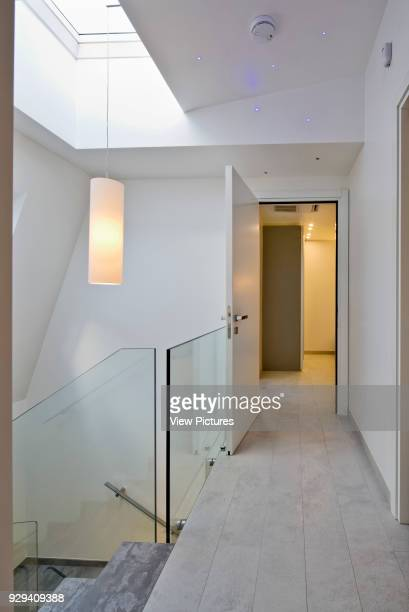 Top floor landing with rooflight Mews House Chagford Street London United Kingdom Architect Ayad LTuhafi Architects Ltd 2015