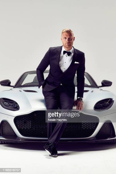 Top Gear presenter Andrew Flintoff is photographed for the Daily Mail on May 20, 2019 in London, England.