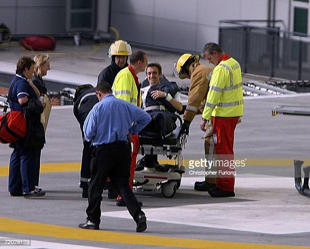 Top Gear presenter Richard Hammond is transferred from Leeds General Infirmary by the Yorkshire Air Ambulance to an unknown destination on 28...
