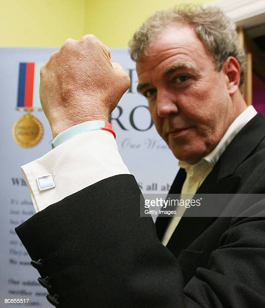 Top Gear Star and Founder of the charity Jeremy Clarkeson attends a 'Help For Heroes' fundraising evening held at the Haymarket Hotel on April 24...