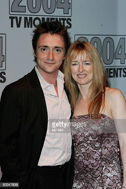 Top Gear's Richard Hammond arrives with his wife Amanda at the 2004 TV Moments Awards Ceremony at BBC Television Centre on January 22 2005 in London...