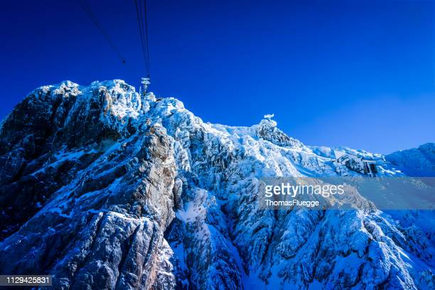 top deutschland, zugspitze - sonnig stock pictures, royalty-free photos & images