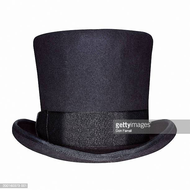 top hat - top hat stock pictures, royalty-free photos & images