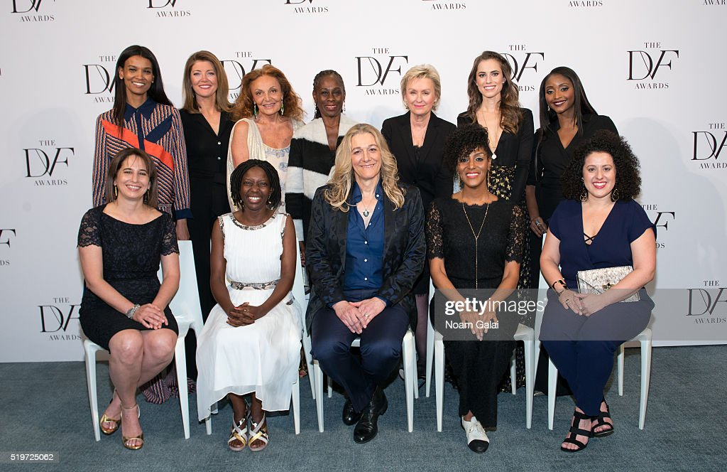 2016 DVF Awards : News Photo