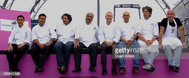 Top London chefs including Aldo Zilli Michel Roux and Giorgio Locatelli