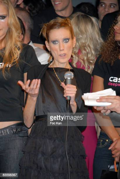 Top Model 2008 Awarded Indre Kaltenis Isabelle Caro and Guests attend the Casting Magazine Top Model 2008 Finale at the Salons Du Louvre on March 31...