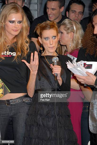 Top Model 2008 Awarded Indre KaltenisIsabelle Caro and Guests attend the Casting Magazine Top Model 2008 Finale at the Salons Du Louvre on March 31...