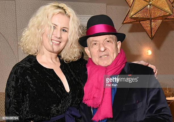Top model Christine Bergstrom and her companion Doctor Jacques Leibowitch from ICCARRE against AIDS and overmedication project attend Liza Liwan...