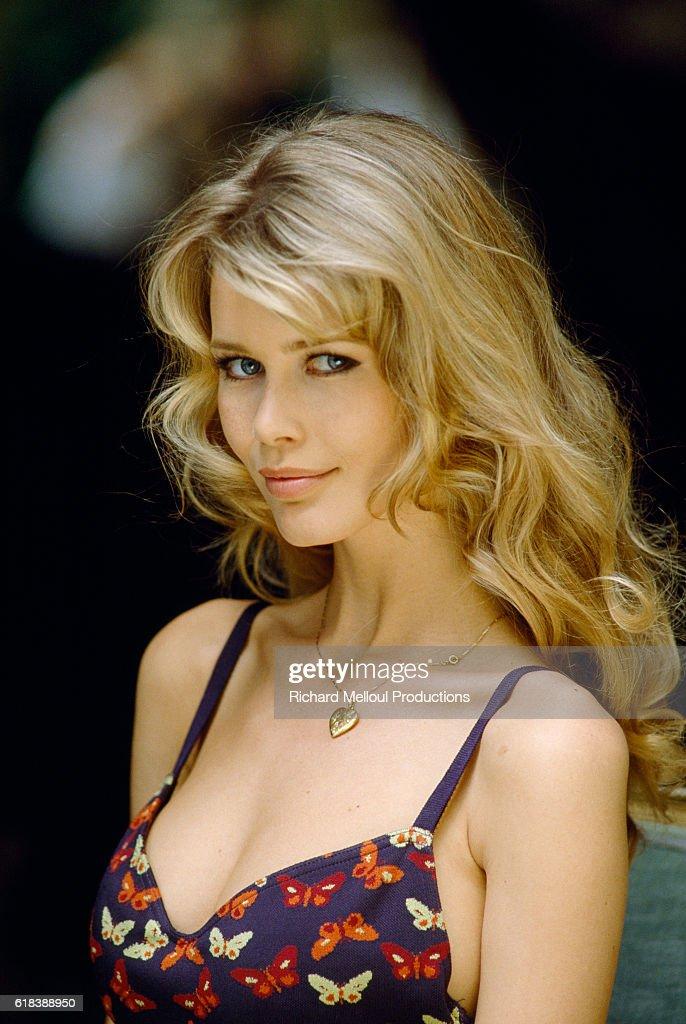Top Model Claudia Schiffer : Photo d'actualité