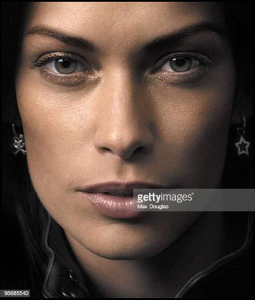 Top Model Fernanda Lessa poses for a portrait in shoot in Milan on March 16 2005