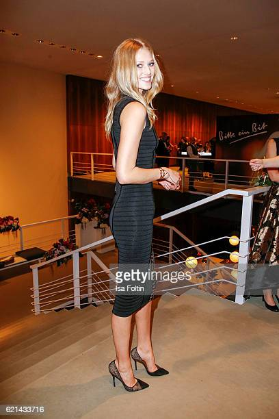 Top model Toni Garrn arrives at the 23rd Opera Gala at Deutsche Oper Berlin on November 5 2016 in Berlin Germany