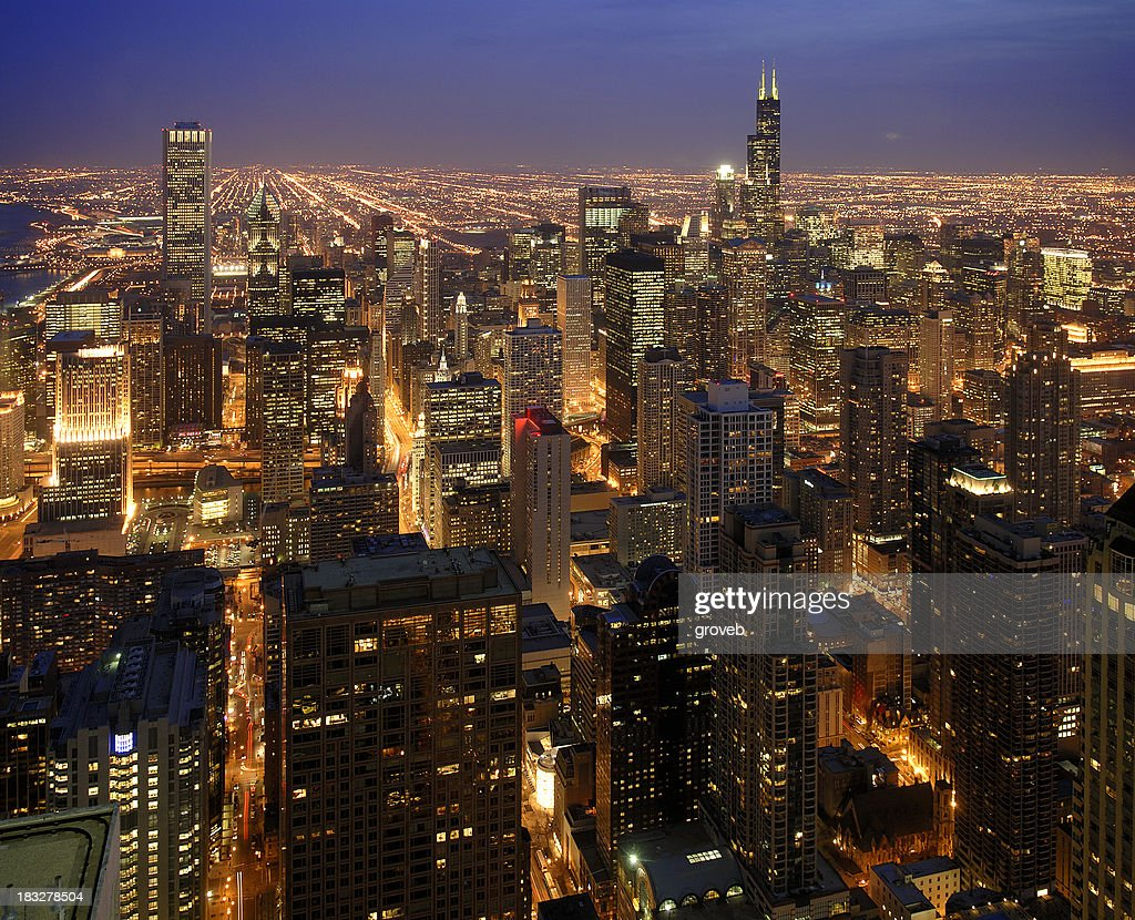 Top of Chicago : Stock Photo