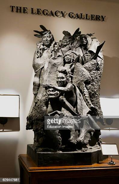Top of the Rock Museum Native American Sculpture Legacy Gallery Branson Missouri