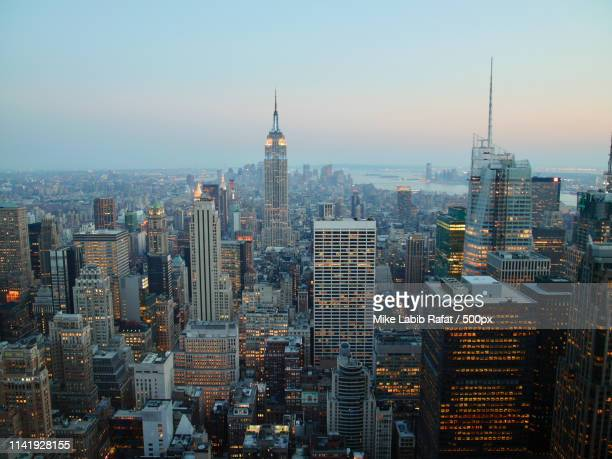 top of the rock view - empire stock pictures, royalty-free photos & images