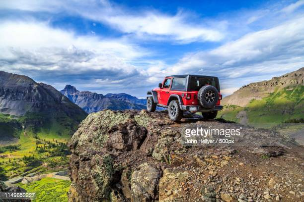 top of the world - jeep stock pictures, royalty-free photos & images