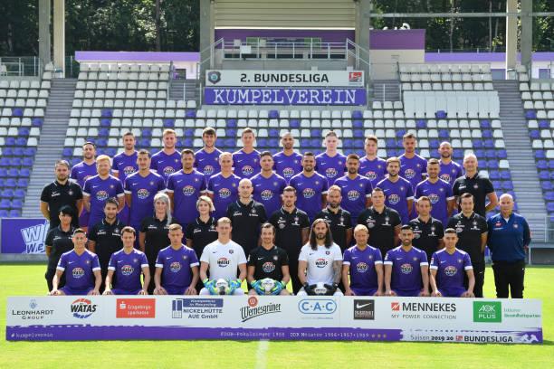 DEU: Erzgebirge Aue - Team Presentation