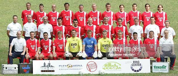 Top row from left Daniel Schumann Steffen Schrod Setphan Sieger Matej Miljatovic Sean Dundee Markus Happe Niko Bungert Heiner Backhaus Christian...