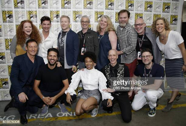 Top Row Mary Wiseman James Frain Anthony Rapp Executive Producer Alex Kurtzman Executive Producer Gretchen J Berg Rainn Wilson Executive Producer...