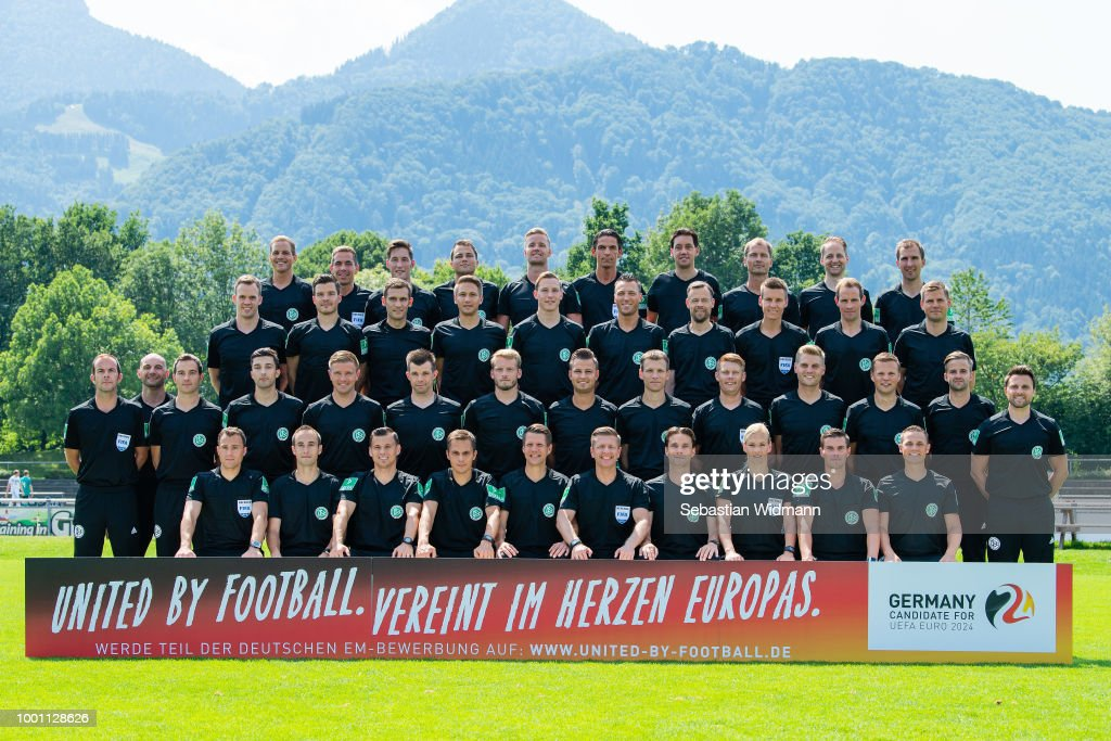 DFB Referees Portrait Session