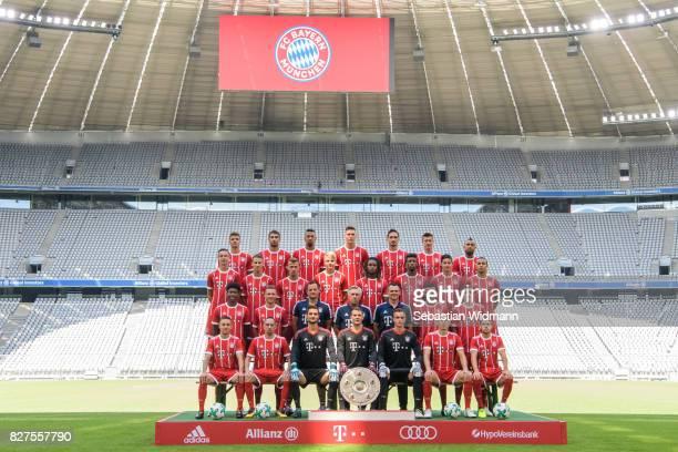 Top row Thomas Mueller Javier Martinez Jerome Boateng Niklas Suele Mats Hummels Robert Lewandowski Arturo Vidal Second row from top Marco Friedl...